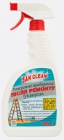CLEANING AND WASHING DETERGENT FOR GENERAL CLEANING AFTER REPAIRS